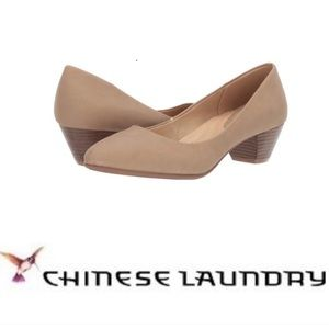 CL By Laundry Almond Toe Pump.